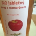 BIO jablečný sirup s rozmarýnem 500ml