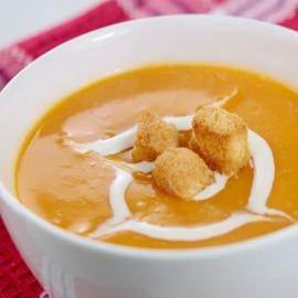 Dýňová polévka fbx