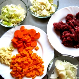 Hovězí nudličky s podzimní zeleninou fbx