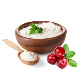 Jogurt z Rampuše Brusinka