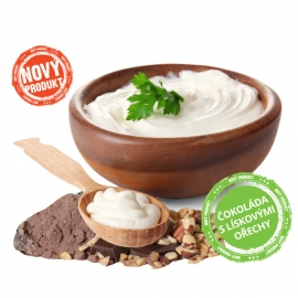 Jogurt z Rampuše Pravá čokoláda  a ořechy