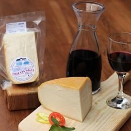 Orlovsko - Kozí sýr polotvrdý 150g