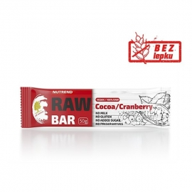 RAW BAR kakao+brusinka 50g