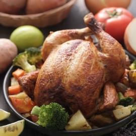 "Farmbox ""kuře na oběd"""