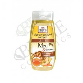 Vlasový a tělový šampon 2v1 MED a Q10 260 ml