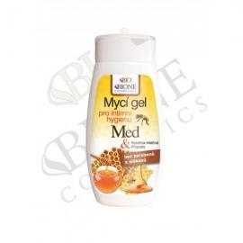 Mycí gel pro intimní hygienu MED a mateří kašička 260 ml