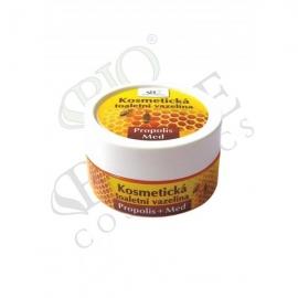 Kosmetická toaletní vazelína MED a Q10 s propolisem 150 ml