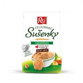Sušenky celozrnné mini lískooříškové 190g