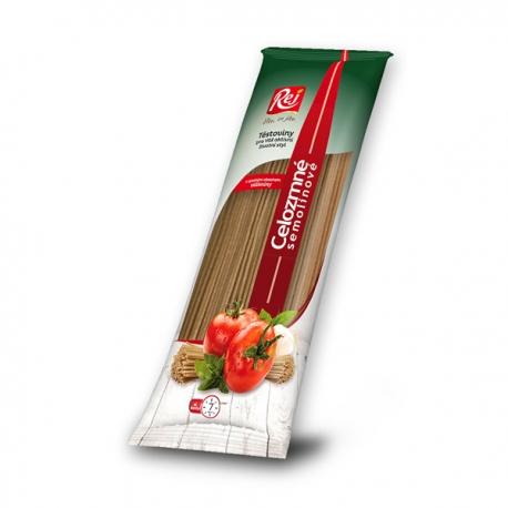 Celozrnné semolinové těstoviny 400g - špagety