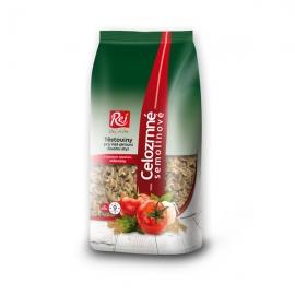 Celozrnné semolinové těstoviny 400g - vřetena