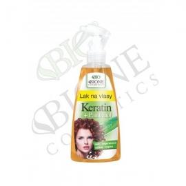 Lak na vlasy KERATIN + PANTHENOL 200 ml