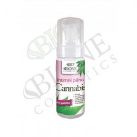 Intimní mycí pěna CANNABIS 150 ml