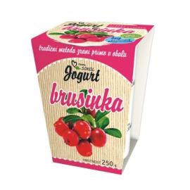 Jogurt z Rampuše Brusinka 250g