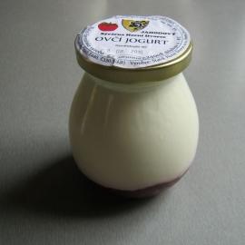 Ovčí jogurt jahoda 150ml