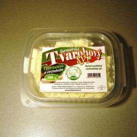 Tvarohový sýr petržel a česnek 200g