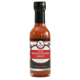 Omáčka smoked peppers 185ml