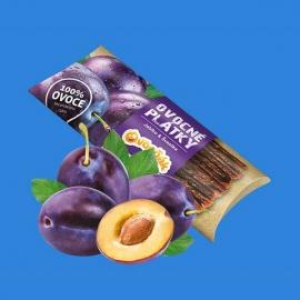 Ovocné plátky 20g - jablko, švestka