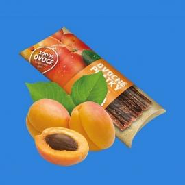 Ovocné plátky 20g - jablko, meruňka