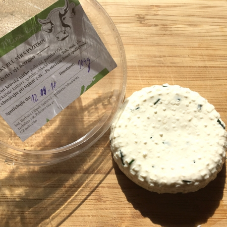 Farmářský Bůů sýr s pažitkou 100g