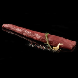 Jelení hřbet bez kosti 0,5kg (odblaněný)