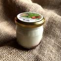 Kozí jogurt spříchuti jahody 185g (sklo)