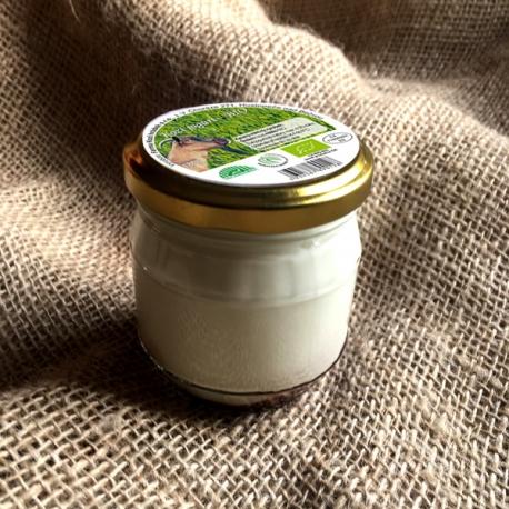Kozí jogurt spříchuti vanilky 185g (sklo)