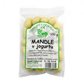Mandle v jogurtu ZP 100g