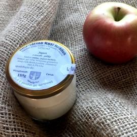 Jogurt s příchutí jablka 185g (sklo)