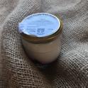 Jogurt kravský s malinou 185g (sklo)