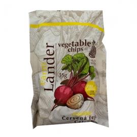 Chipsy FarmLander červená řepa-celer-sýr cheddar 35g