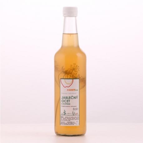 Jablečný ocet s koprem 0,5l