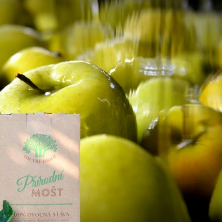 Mošt jablko Golden Delicious 5L