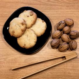 Naše sušenky ořechové 2ks