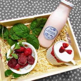 Acidofilní mléko jahoda 0,5l
