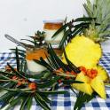 Slížanský jogurt rakytník s ananasem 200ml