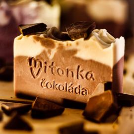 Přírodní mýdlo Čokoláda 95g
