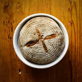 Bochník - kvasový semínkový chleba 750 g