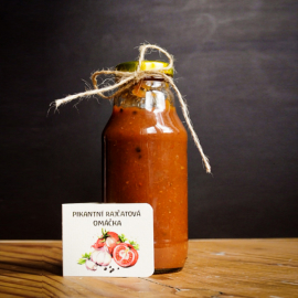 Pikantní rajčatová omáčka 0,33 l