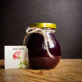 Želé zrůžových okvětních lístků 245 ml