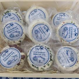 Slížanský čerstvý sýr sušené rajče s bazalkou 200ml