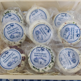 Slížanský čerstvý sýr chilli 200ml