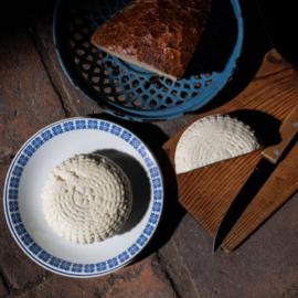 Těšanský čerstvý sýr pařený 150g