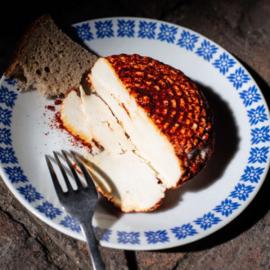 Těšanský čerstvý sýr uzený 150g