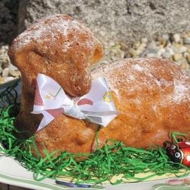 Velikonoční beránek piškotový