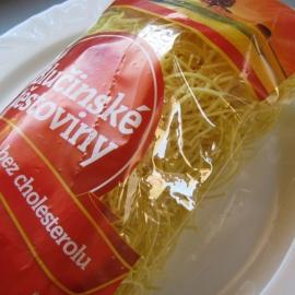 Těstoviny - polévkové nudle