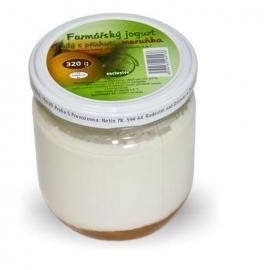 Farmářský jogurt meruňka 320 g
