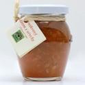 Broskvový džem s ořechy a třtinovým cukrem 200ml