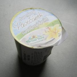 BIO pasečánek vanilkový tvarohový krém 150g
