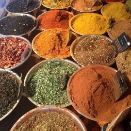 Koření a sůl