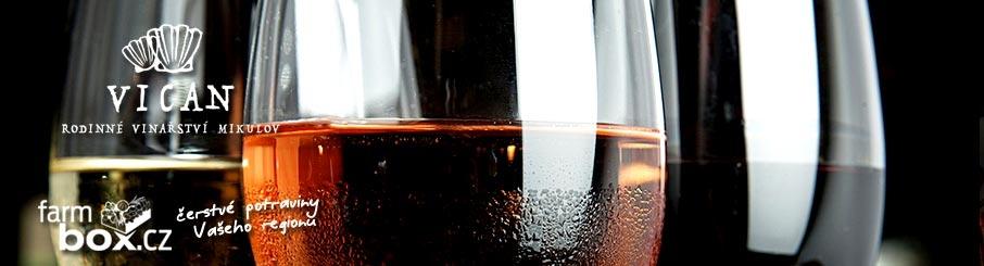 Víno z rodinného vinařství Vican